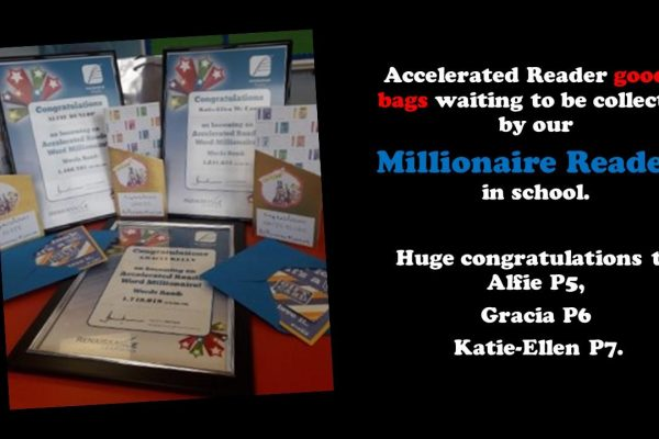 Congratulations to Our Millionaire Readers!