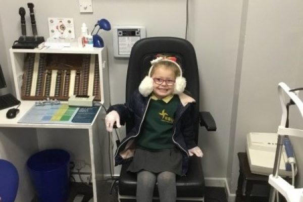 Year 2 Visit From The Optician