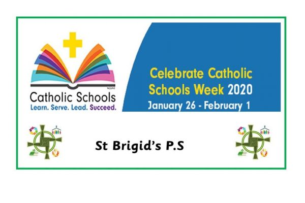 Catholic Schools' Week 2020 (Monday 27th January - Friday 31st January)