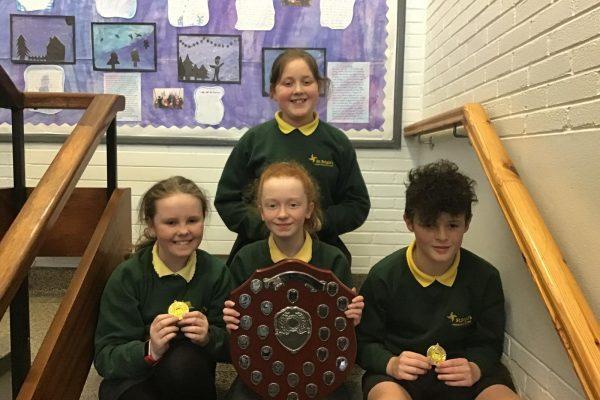 North Antrim Cumann na mBunscol Quiz Champions 2020