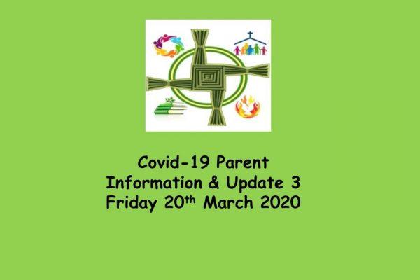 Covid 19 Update 3 Parent Information Letter