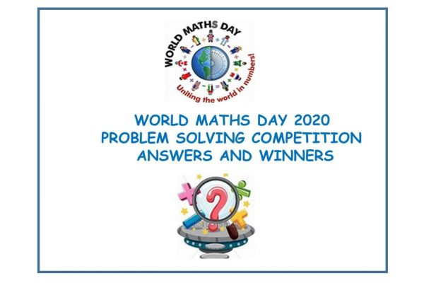 World Maths Day Problem Solving Compettion Answers and Winners