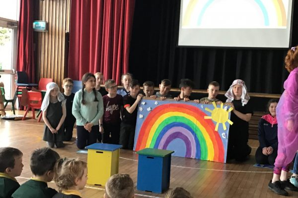 Year 7 Assembly 'After the Storm There is Always a Rainbow!