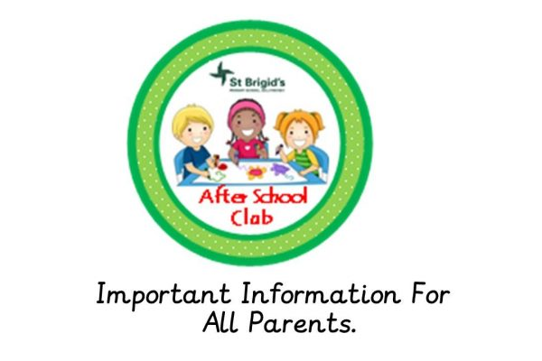 Sunshine Club Important Information