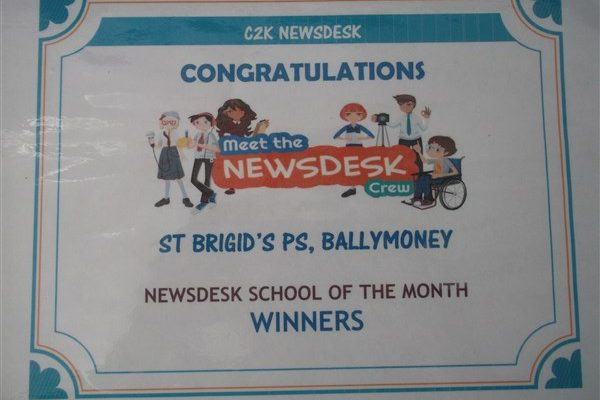 C2K NEWSDESK School of the Month!