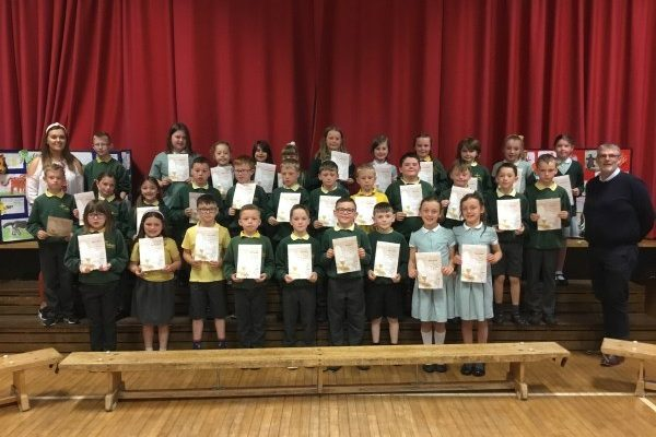 Year 4 First Communion Presentation of Certificates