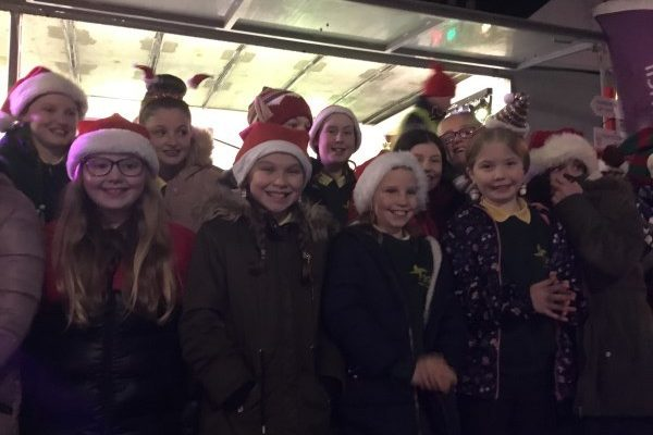 Choir For Christmas Switch On in Ballymoney