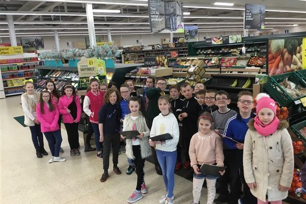 Year 6 Explore Fairtrade Products in Tesco