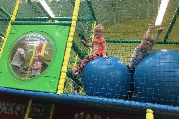 Year 1, 2 & Class A Trip to Funky Monkeys and JCB World