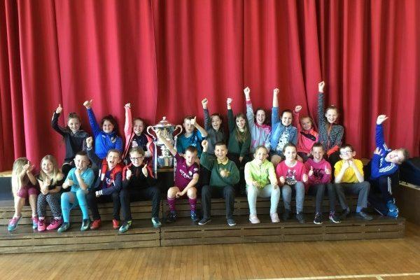 The Irish Cup Visits St Brigid's