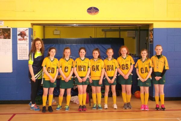 Saint Brigid's Host Mini Netball Tournament