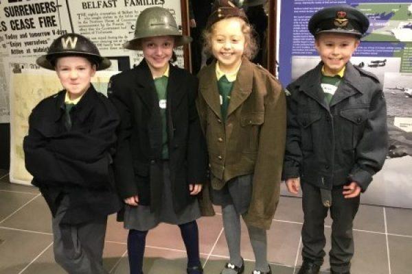 Year 4 Visit to the NI War Memorial Museum, Belfast