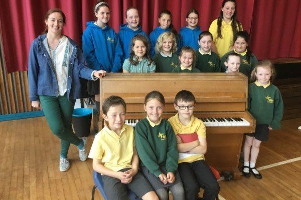 St Brigid's Fantastic Pianists Hold Their Summer Piano Recital