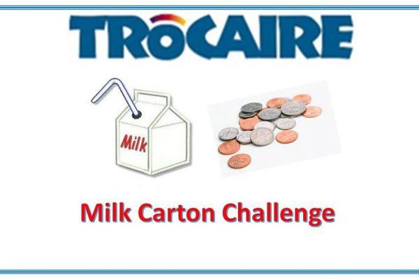 Trocaire 'Milk Carton Challenge'