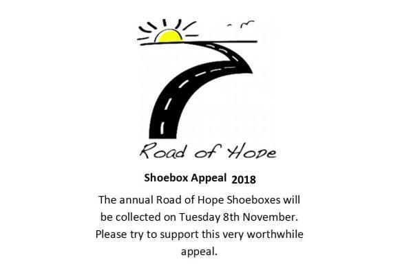 Shoebox Appeal 2018