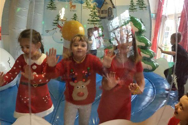 Christmas Snow Globe Fun