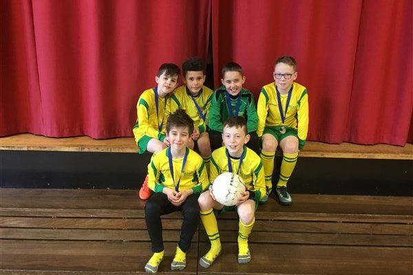 Congratulations Boys! Silver Medal Winners!