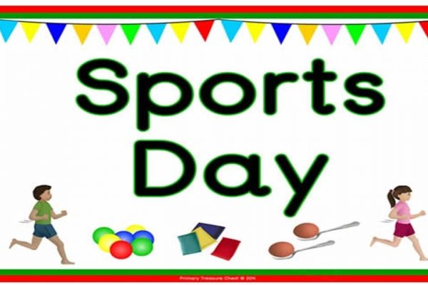 Sports Day Friday 1st June
