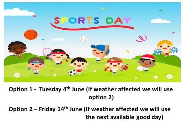 Sport's Day Dates For Your Diary