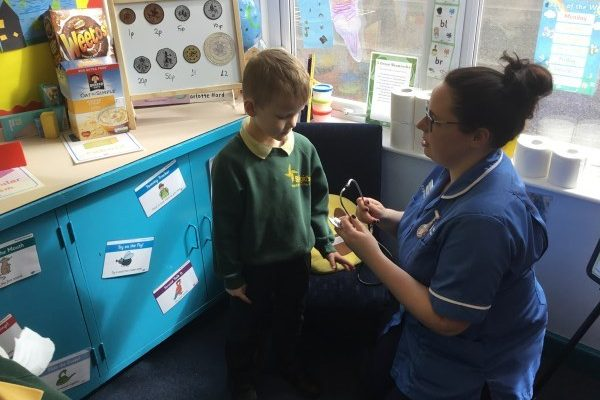 Year 2 Visit From Nurse