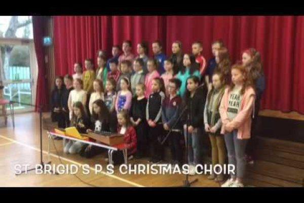 St Brigids Christmas Choir Perform