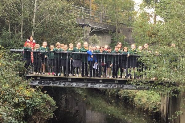 Year 6 Enjoy a Local River Study at Riverside Park